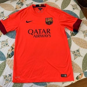 Nike Men's Authentic FC Barcelona Soccer Jersey